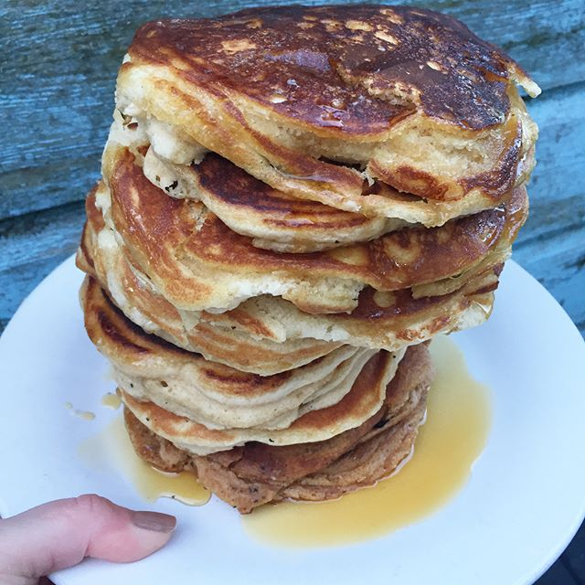 American Fluffy Vegan Pancakes