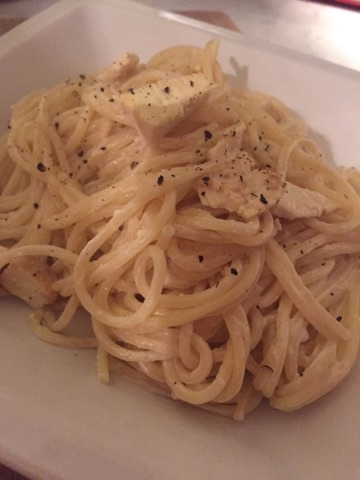 easy vegan carbonara